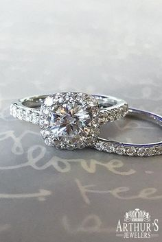 Unique and simple diamond halo engagement ring by Fana Jewelry available at Arthur's Jewelers. Buying An Engagement Ring, Princess Cut Engagement Rings, Halo Diamond Engagement Ring, Designer Engagement Rings, Wedding Jewelry, Wedding Rings, Wedding Bells, Wedding Dress, Etsy