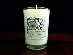 Aries Zodiac Candle - Esoteric - Aroma
