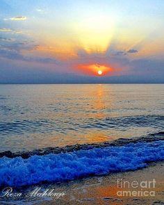 ✯ Beautiful Sunset over the Caspian Sea