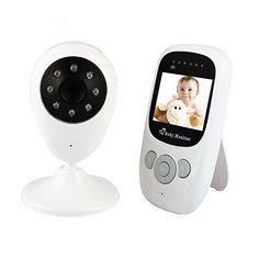 Discoball® Baby Monitor with Camera GHz Wireless LCD Digital Video Audio Security Two-way Talk Night Vision 4 Lullabies Temperature Monitoring for Baby/Old/Pet (Updated IC,Solution) Baby Room Temperature, Time Lapse Camera, Home Security Alarm System, Wireless Camera, Electronic, Baby Health, Baby Monitor, Camera Photography, Ip Camera