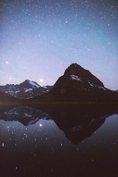 Many Glacier Stars by Forrest Mankins #nature #photography