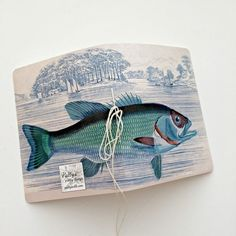 Fish Journal Father's Day Journal Birthday by PattyAntlesPrettys