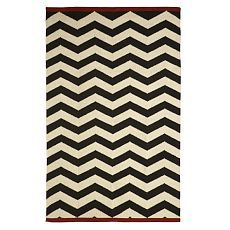 Zigzag Rug- Cant wait to put this in our new home!! Love chevron stripes!