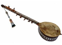 traditional Folk musical instrument Afghanistan تنبور