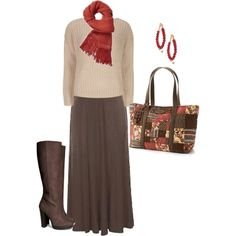 plus size fall outfit, created by penny-martin on Polyvore