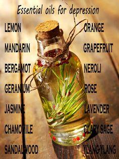 Essential oils for depression   DIY home remedies