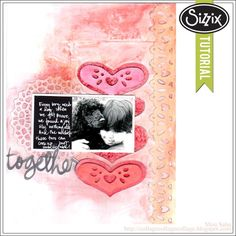 Sizzix Die Cutting Tutorial | For the Ones We Love by Mou Saha