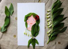 Activité pour les enfants : portrait à imprimer et coiffer avec des végétaux Drawing For Kids, Motor Skills, Boy Or Girl, Portrait, Crafts For Kids, Activities, Children, Drawings, Imagination