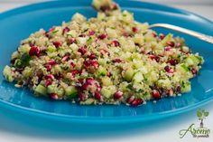 Salata quinoa cu rodie si castraveti