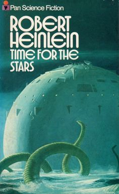 Publication: Time for the Stars  Authors: Robert A. Heinlein Year: 1973-05-00 ISBN: 0-330-02028-5 [978-0-330-02028-2] Publisher: Pan Books