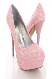 Pink and sparkly my two favourite things