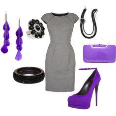 modest purple