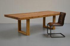 Esszimmer Tisch Eiche 8cm Quadron
