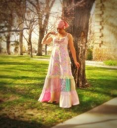 Hey, I found this really awesome Etsy listing at https://www.etsy.com/listing/183862351/butterfly-fairy-pink-patchwork-sun-dress