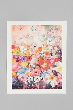 Flox Home Black And White Art Print - Urban Outfitters