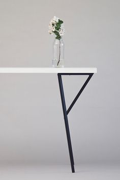 Metal y table legs
