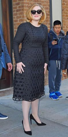 Adele steps out in New York