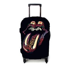 Rolling Stone Art Luggage Cover – Etsyenvy Luggage Cover, Stone Art, Rolling Stones, Suitcase, The Rolling Stones, Rock Art, Briefcase, Pebble Art