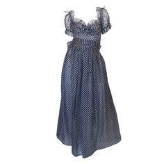 1970s Nina Ricci Haute Boutique Gown   From a collection of rare vintage evening dresses at http://www.1stdibs.com/fashion/clothing/evening-dresses/