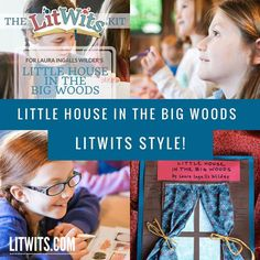 Ma! Pa! Mary! Laura! It's here! We're so excited to share our latest LitWits Kit with all our pioneering friends, we've put it up on our website as a free preview. Through 2017, anyone can have full access - no registration required or anything. Go check it out, and get a sense for what our kits are like. Nothing this exciting and helpful has come around since Pa rented that new-fangled threshing machine!  #litwitskits