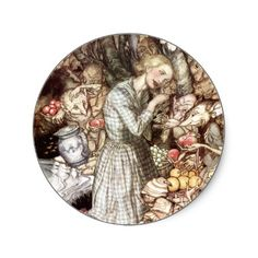 Arthur Rackham - Morning and evening Maids heard the goblins cry: 'Come buy our orchard fruits, Come buy, come buy - Goblin Market by Christina Rossetti, 1933 Arthur Rackham, Goblin, Christina Rossetti, Fairytale Art, Pre Raphaelite, Daily Pictures, Aboriginal Art, Funny Art, Faeries