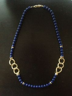 Vintage Nautical Chainlink Rope with Navy by WallpaperGirlCabinet, $10.00
