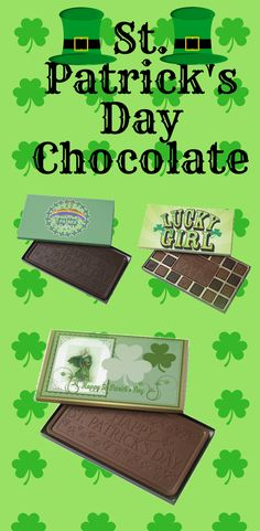 St Patrick's Day Chocolates gift