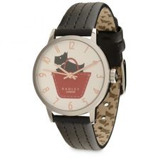 Border, Leather Strap Watch