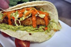It was bonsai fish taco night over the weekend and this one is a keeper, especially with the Thai slaw and unbelievable Sriracha sauce!!!