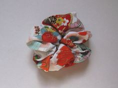 Scrunchie  kimono fabric by makikomo on Etsy