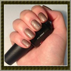 """Gilded"" from the Couture Gel Nail Polish Fall 2012 line! #gelnailpolish #gel"
