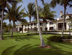 Inside Alan & Sandra Gerry's Palatial 32,000 Sq. Ft. Compound in Florida's Exclusive Port Royal Enclave (PHOTOS) - Pricey Pads Port Royal, Woodstock Festival, Luxury Homes, Luxury Mansions, English Manor, Home Libraries, Large Homes, Elegant Homes, Maine House