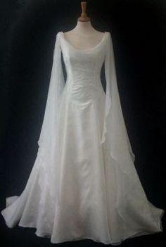 vestido noiva medieval