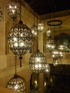 Arabic influenced Lighting