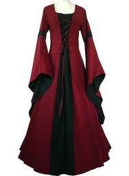 Un jour, je la ferai ma robe médiévale : y a pu qu'à... :p