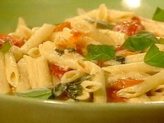 Get Penne with Slow-Roasted Cherry Tomatoes and Goat Cheese Recipe from Food Network
