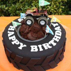 tire mold for cake   Monster Cake Push Pops O Bizcochos En Vasitos                                                                                                                                                                                 More