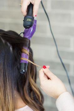 Lob hair tutorial