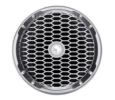 """The PM212S4 is a white 12"""" subwoofer designed for marine watercraft or powersports applications. It features a stainless steel sport grille and is UV and moisture resistant. Can be used in sealed, vented or infinite baffle installations."""