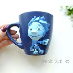 Детская кружечка Фиксики 230мл , сделана на заказ. #полимернаяглина #кружкавподарок #кружканазаказ #пластика #кружка #ярмаркамастеров #ручнаяработа #детки #фиксики #polymerclay #mug #handmade #cup #livemaster