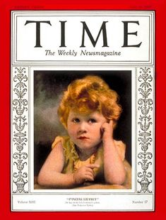 Queen Elizabeth, then only a 2-year-old princess, graced the cover of TIME magazine for the first time on the April 29, 1929 issue. http://ti.me/yiiP8j
