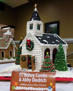 Gingerbread Parade of Houses on Display