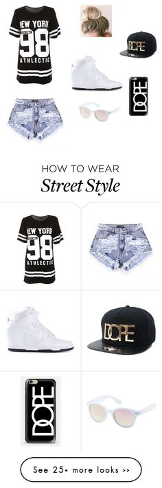 Designer Clothes, Shoes & Bags for Women Hip Hop Outfits, Swag Outfits, Stylish Outfits, Cool Outfits, School Fashion, Teen Fashion, Fashion Outfits, Nike Wear, Summer Outfits For Teens