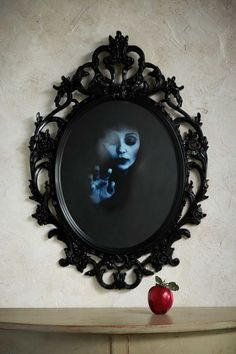 Reflective paint is this spectral mirror's secret. You can use any frame with glass; we chose one from Ikea, and spray-painted it black. Get the tutorial. RELATED: 6 DIY Decorations Based on Famous Last Words