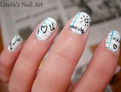 10 Cute Back to School Nail Designs!