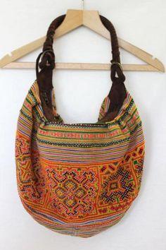 Round She Goes - Market Place - Vibrant boho bag