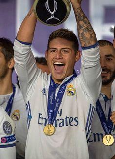 James Rodriguez UEFA Super Cup 2016