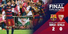 Copa del Rey (Final): FC Barcelona 2 - Sevilla FC 0 | Football Manager All Star