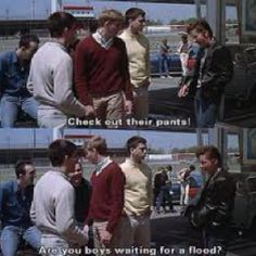 Ator Field in Owasso, OK in the background The Outsiders Quotes, The Outsiders 1983, Die Outsider, I Movie, 80s Movies, Lets Do It, Tom Cruise, Hilarious, Funny