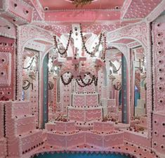room made from cake